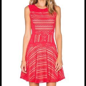 BCBG MAXAZRIA Red Berry Dress